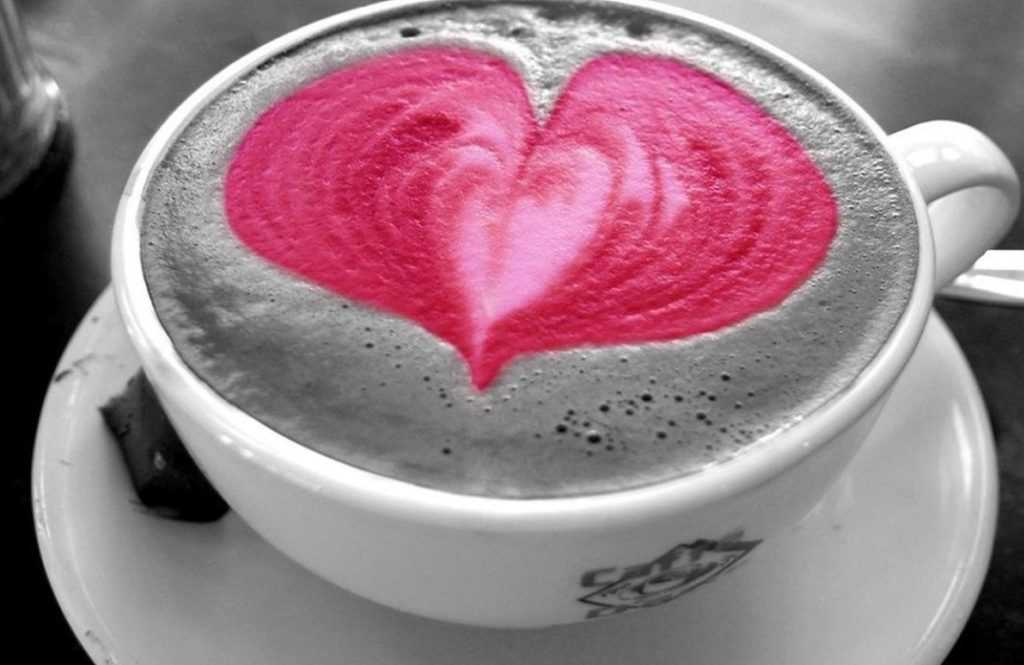 Сердечки на Валентинов день