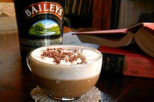 рецепт кофе бейлис