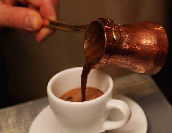 Рецепт кофе с солью