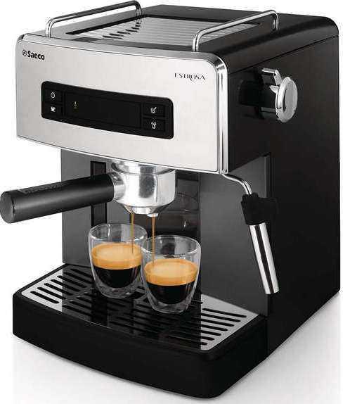 эспрессо в рожковой кофемашине