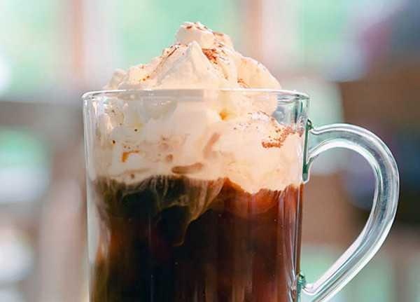 Охлаждённый эспрессо с какао