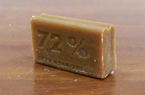 Как вывести кофейное пятно с помощью мыла