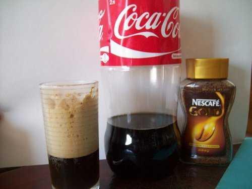 кофе с кока-колой