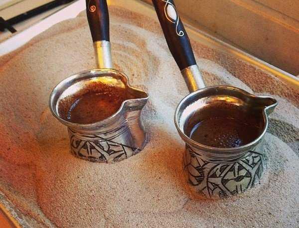 Оборудование для приготовления кофе в песке