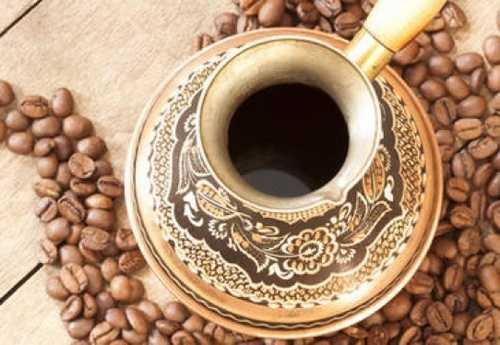 кофе с солью и перцем