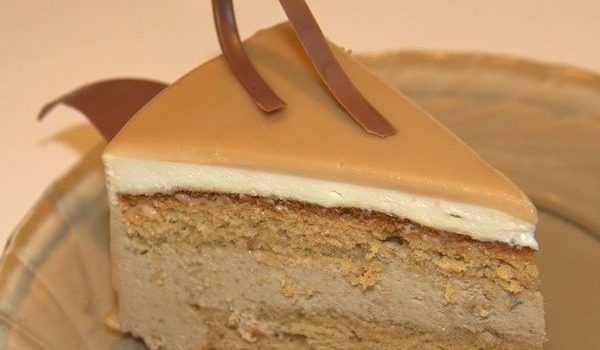 Торт из кофе на кефире