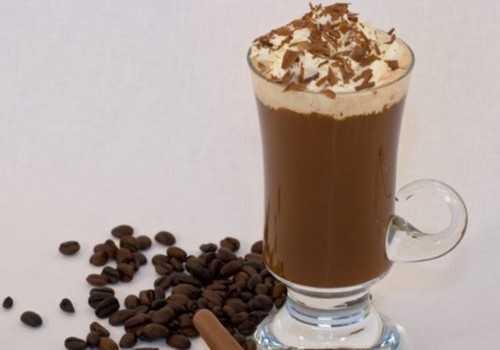 Молочный коктейль с кофе