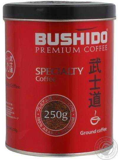 Молотый кофе Бушидо