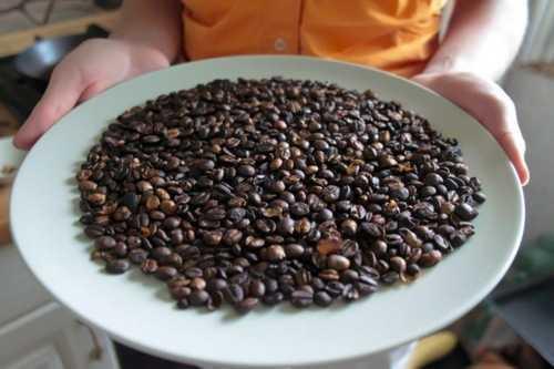 как жарить зеленый кофе