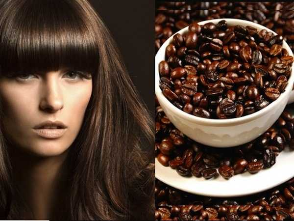 Кофе как краска для волос