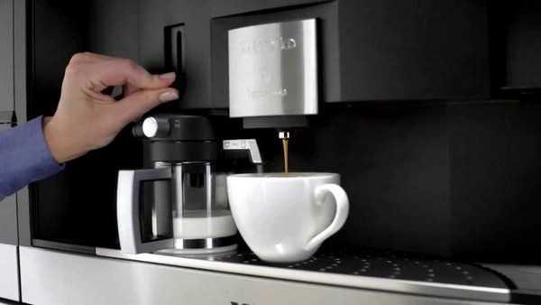 Встраиваемые кофемашины для кухни