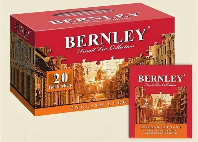 чай бернли
