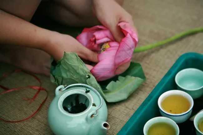 чай лотосовый