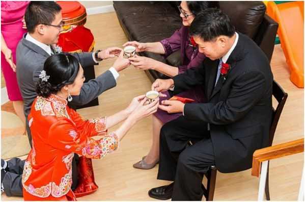чай на китайской свадьбе