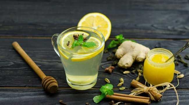 чай с имбирем мятой кардамоном