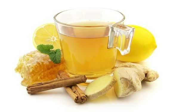 чай с корицей, имбирем и медом