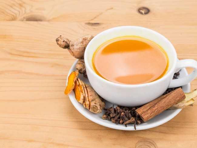 чай с перцем и имбирем