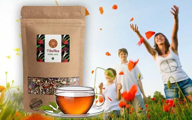 чай тибетта