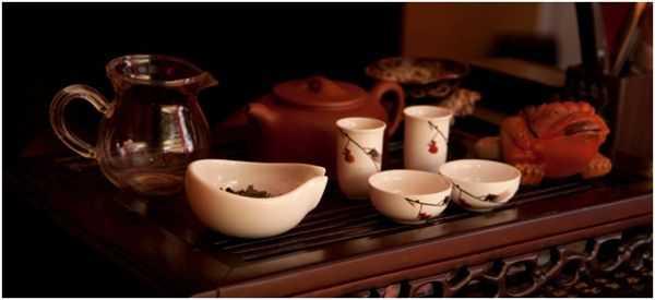чайная посуда на чабани