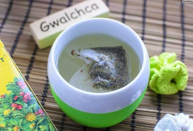 чашка чая бруснивер