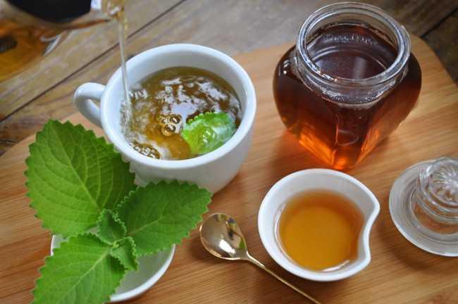 душица и чай