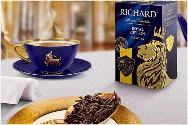 из рекламы чая Ричард