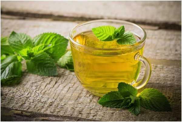 классический чай с мятой