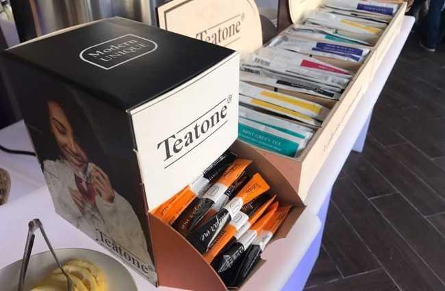 коробка чая тиатон