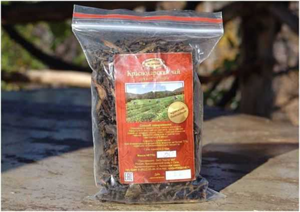 краснодарский чай в пакете