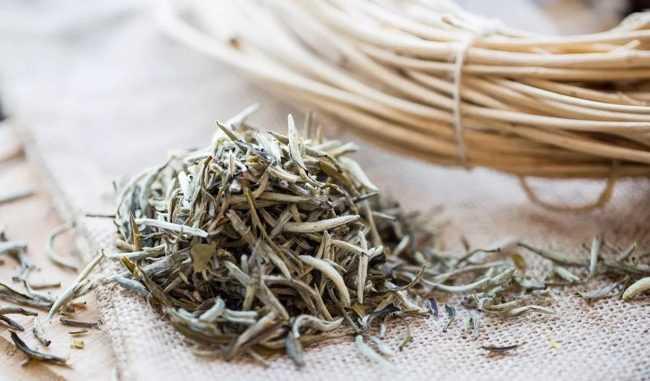 листья белого чая