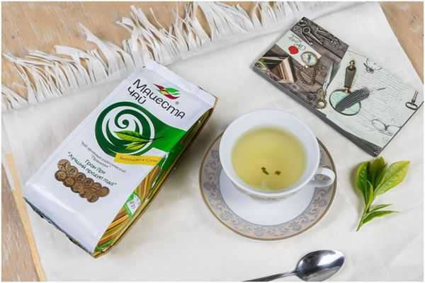 мацеста чай зеленый