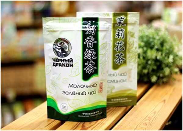 молочный зеленый чай