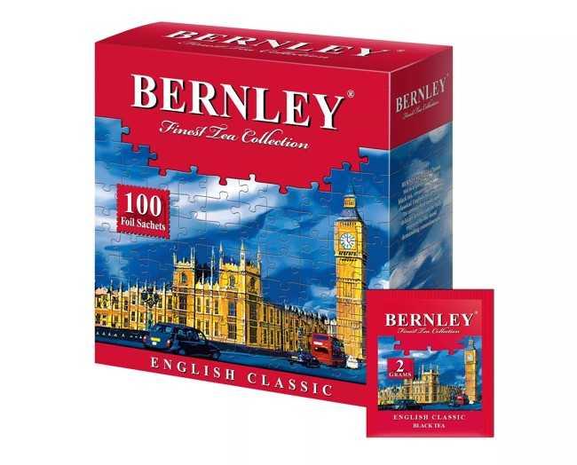 пачка чая бернли