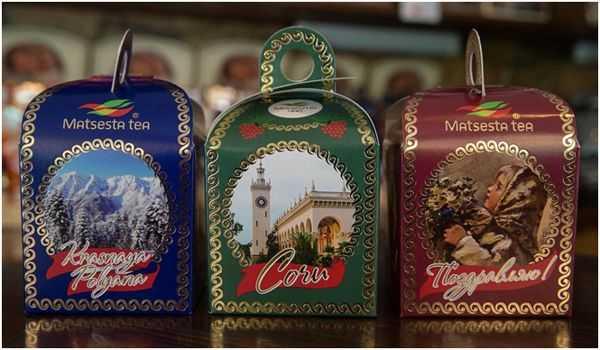 подарки от мацеста чай