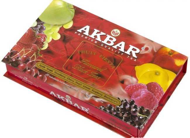 подарочный чай акбар