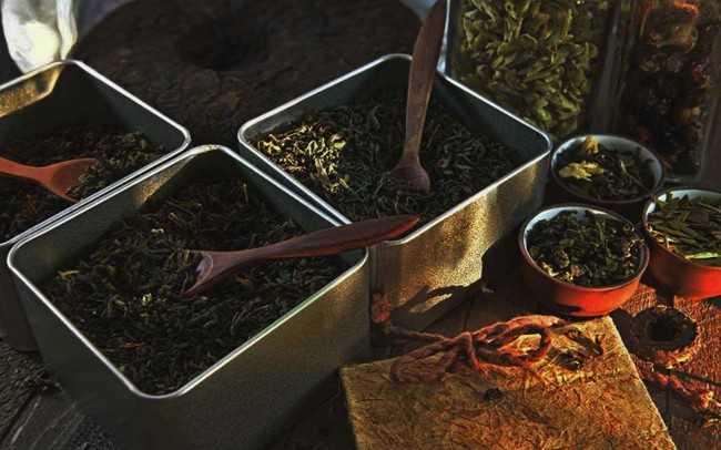 разнообразие черного чая