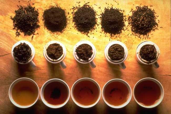 разновидности черного чая