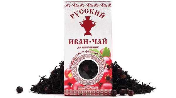 русский иван чай да шиповник