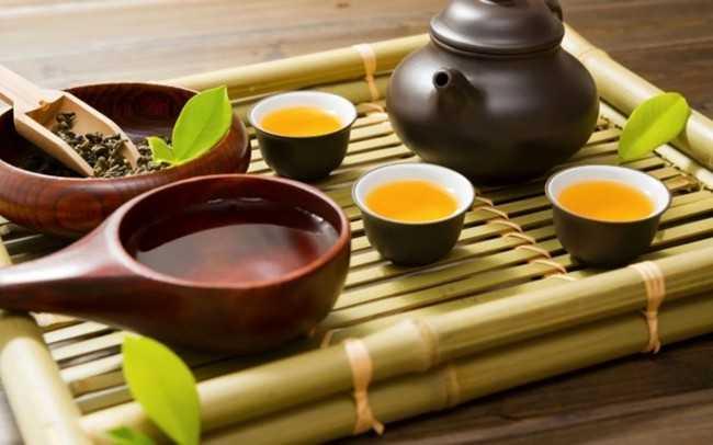 традиционный японский чай