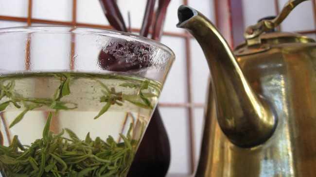 заваренный чай билочунь