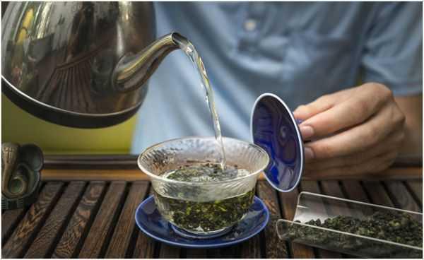 заваривание чая тегуаньинь