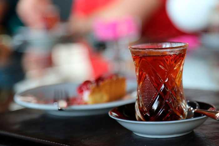 армуд с чаем