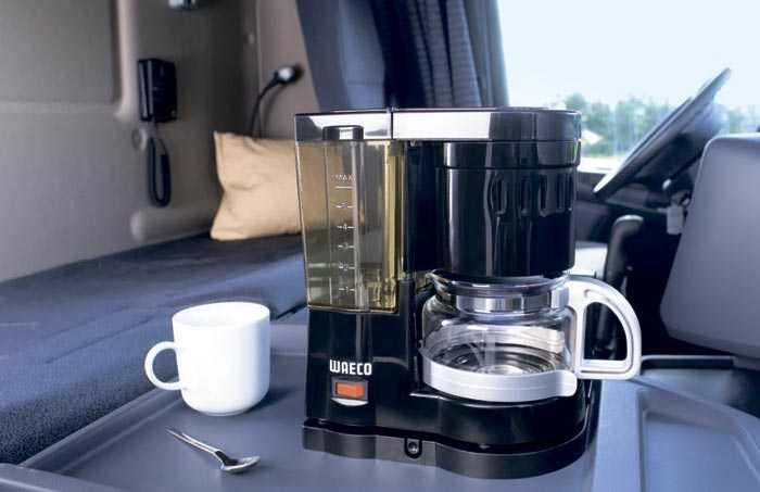 кофеварка в автомобиле