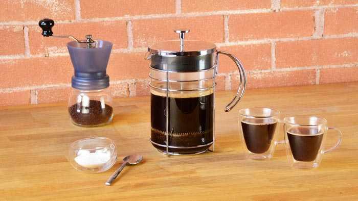 кофе из френч пресса