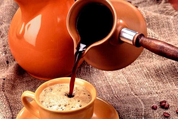 Кофе из турки