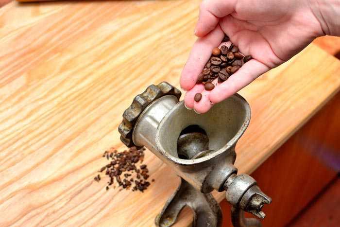 кофе в мясорубке