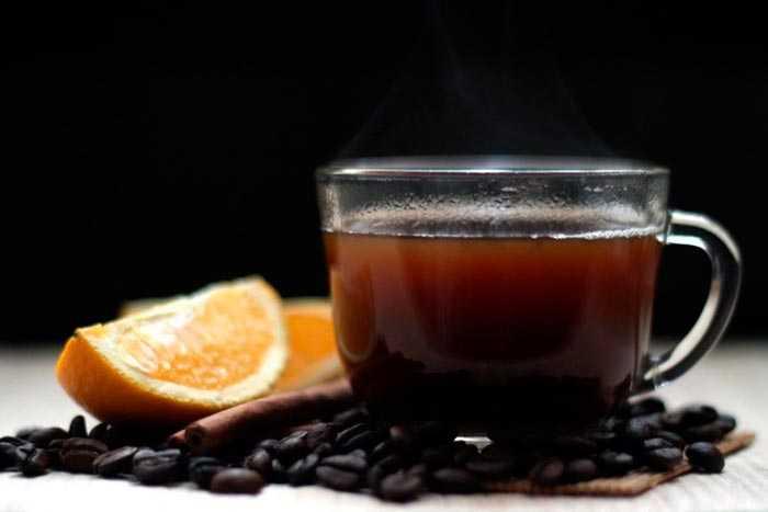 кофе с цитрусом