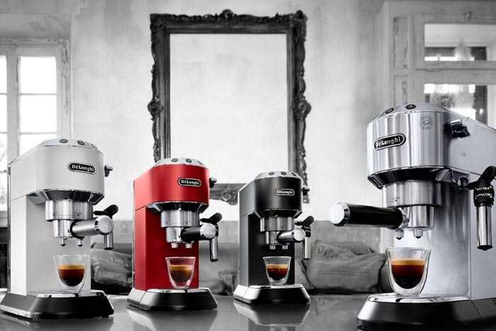 рожковые кофемашины