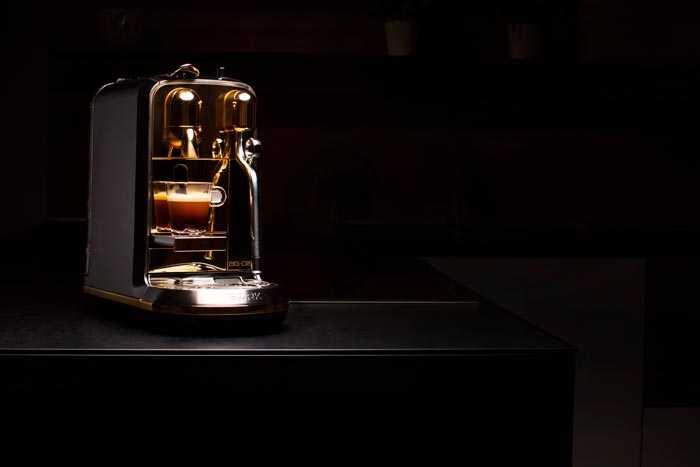 кофемашина с подсветкой