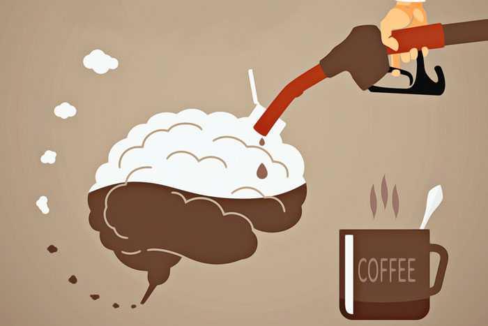 чашка кофе для мозга